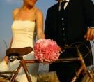 Bouquet rosa di peonie e rose