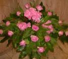 Centrotavola rose rosa