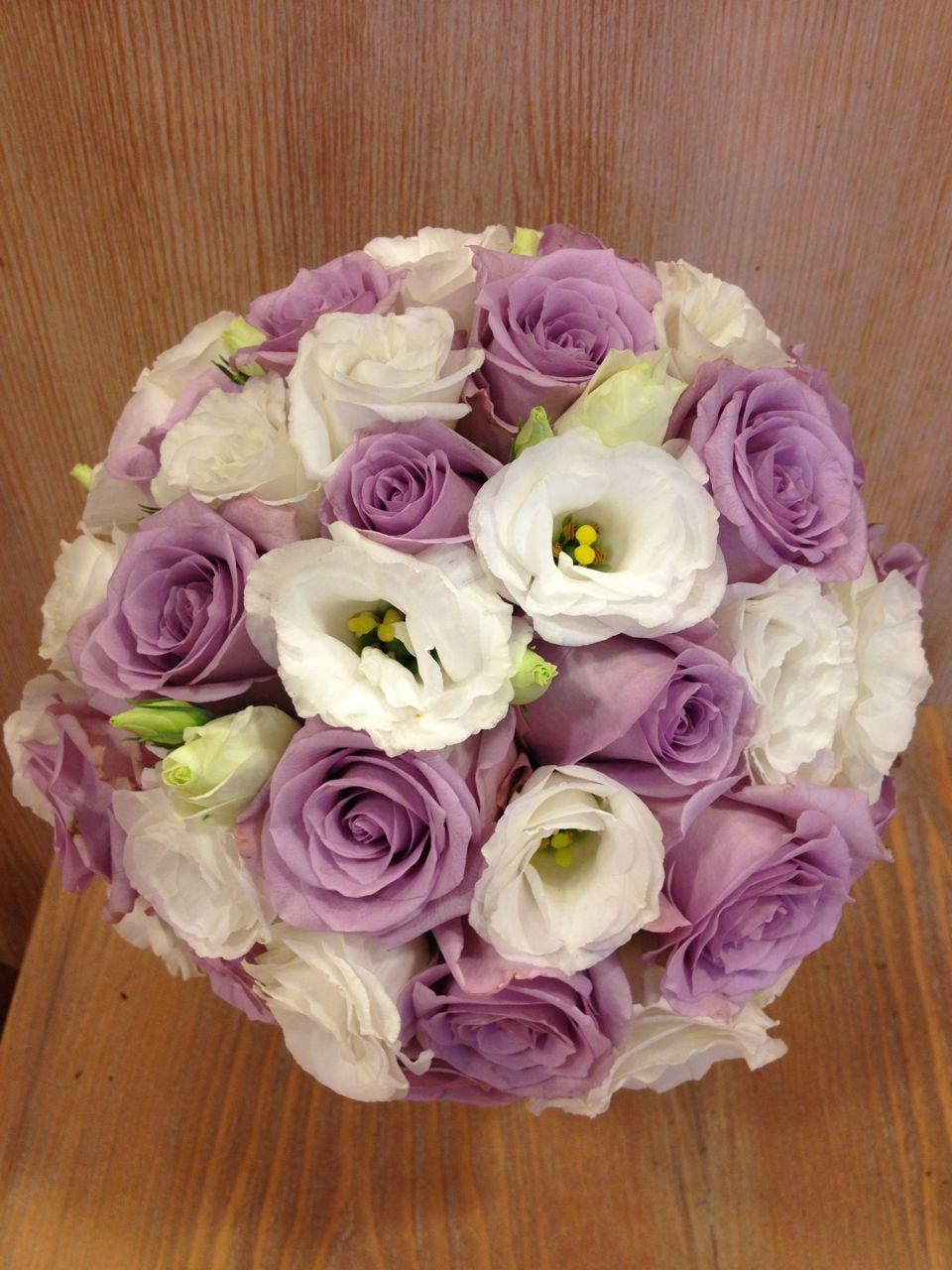 Bouquet Ortensie E Rose : Elisabetta fiori e piante bouquet con rose viola