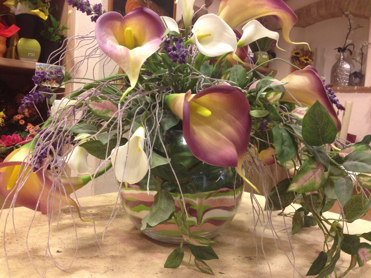 Composizioni con fiori secchi qc71 regardsdefemmes - Decorazioni fiori finti ...