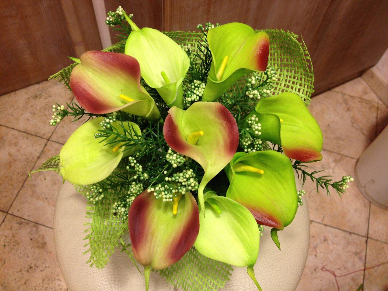 Famoso Elisabetta Fiori e Piante – Composizione di fiori artificiali XS39