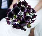 Bouquet di calle nere