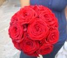 Bouquet di rose rosse naomi