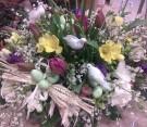 Tulipani, Fresie, Ginestra e decorazioni pasquali